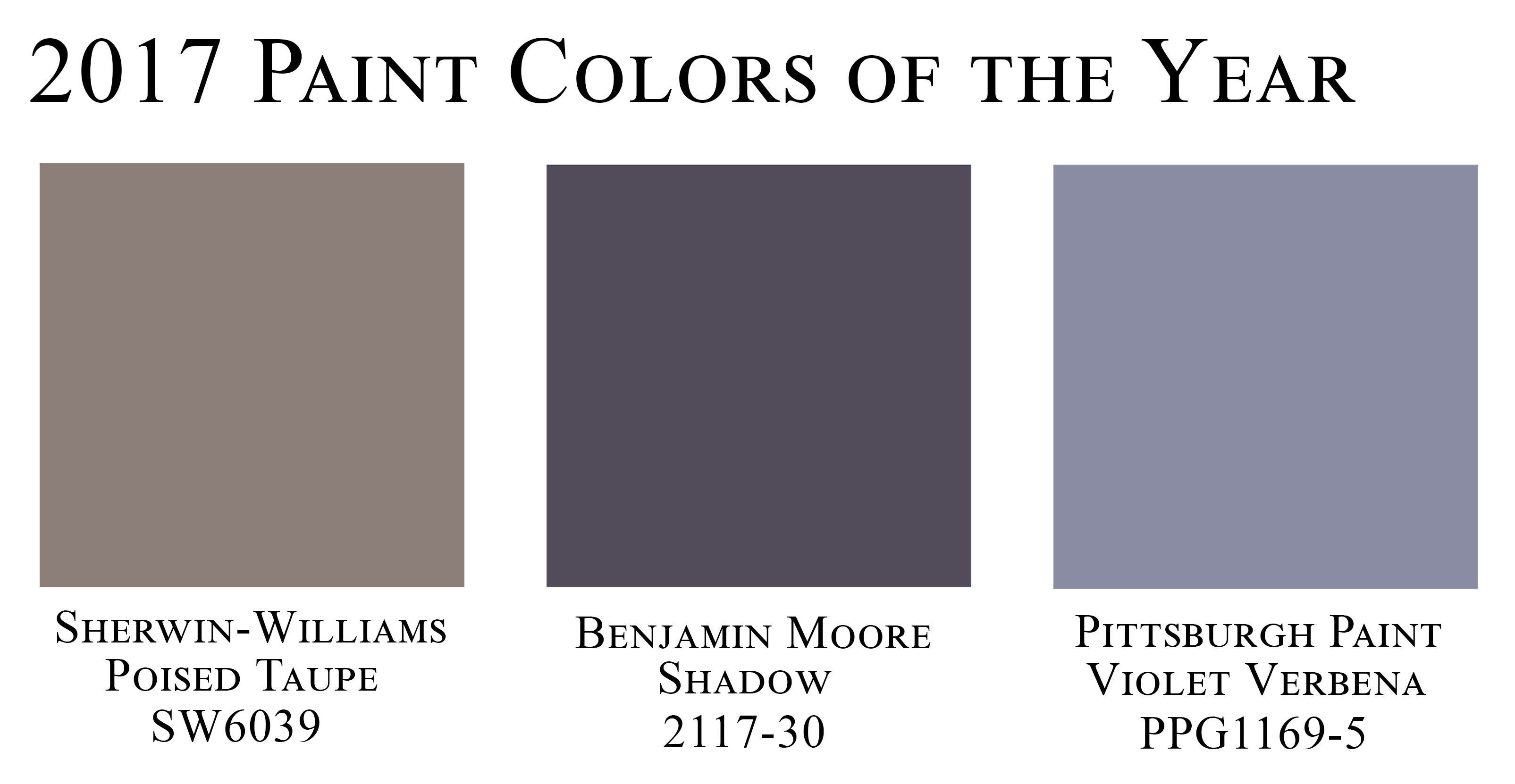 Announcing the color of the year for Sherwin williams color of the month october 2017